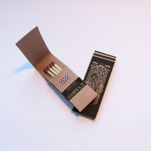 Pickinfo egyedi formájú csomagolású gyufa, reklámgyufa, eco reklám