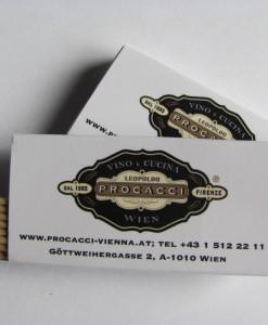 Pickinfo egyedi formájú csomagolású gyufa, reklámgyufa, eco reklám, fogpiszkáló