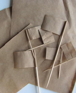 ECOline papírzászlók