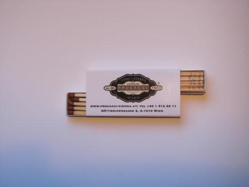 gastro marketing-box of matches-advertising toothpicks-pickinfo